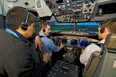 Boeing opened a training campus for the 787 Dreamliner at Miami International Airport this week.