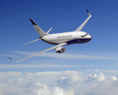 Chinese customers ordered five Boeing Business Jets since April 2013. (Photo/Boeing)