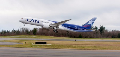 Latin American carrier Latam is building a fleet of 32 Dreamliners. (Photo/Boeing)