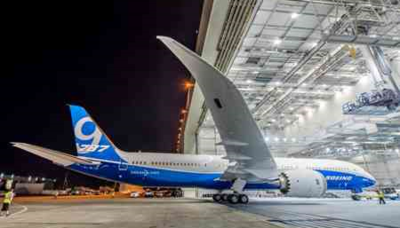 Boeing Dreamliners, built in North Charleston and Everett, Wash., are expected to become more popular with Middle Eastern airlines over the next two decades. (Photo/Boeing)