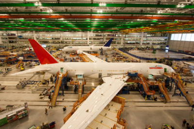 Boeing South Carolina workers build 787 Dreamliners from the North Charleston campus. (Photo/Kim McManus)