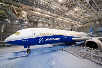Currently in 2015, 24 Dreamliners are on order. (Photo/Boeing)