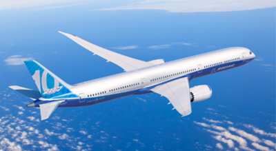 A stock analyst said market watchers shouldn't overlook the expected increase in profitability of the 787-10 and increased production rates Boeing is shooting for in the coming years. (Photo/Boeing Co.)